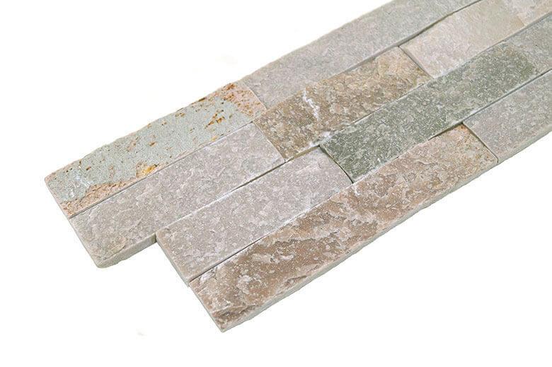 Stonepanels - Golden Kwartsiet Stone Panels - Hoekstuk