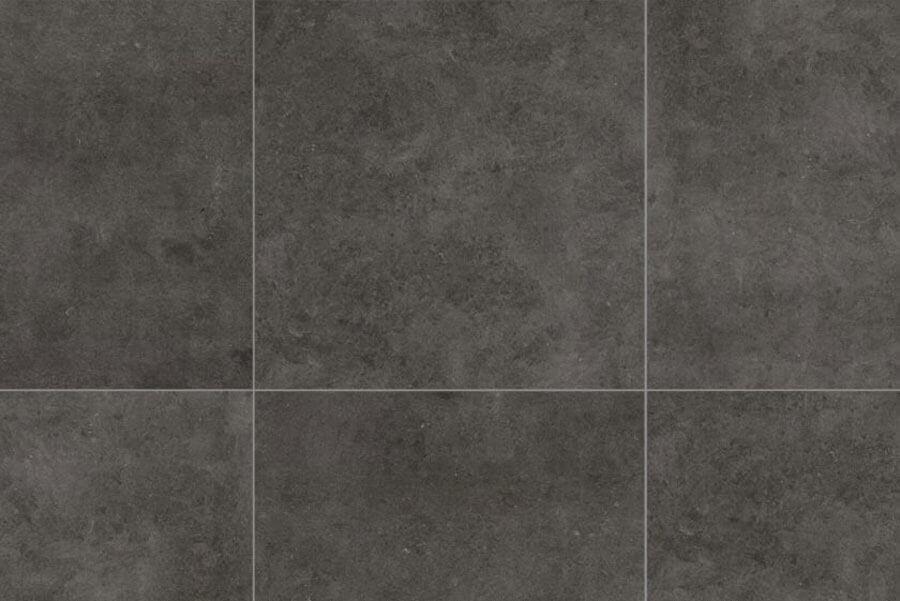 Vloertegels betonlook 100x100 cm - Square Black In