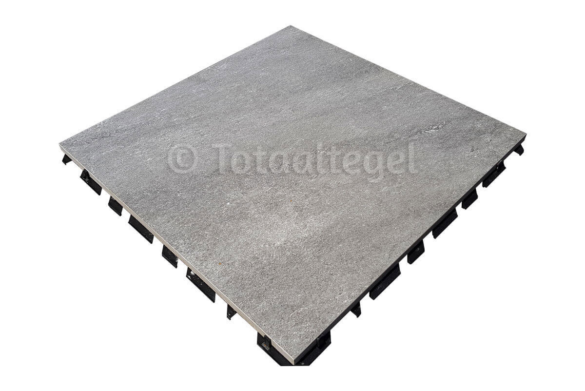 Waterdoorlatende terrastegels - X1 Quartz Grey