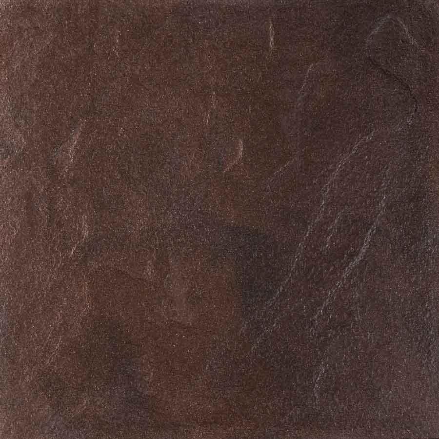 Betontegels 60x60 - Chique Bruin / Zwart Wave