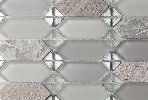 Keramische Mozaiek - Classic Grey