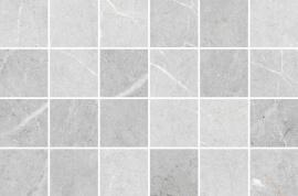 Marmer Look vloertegels - Byron Bardiglio mozaïek