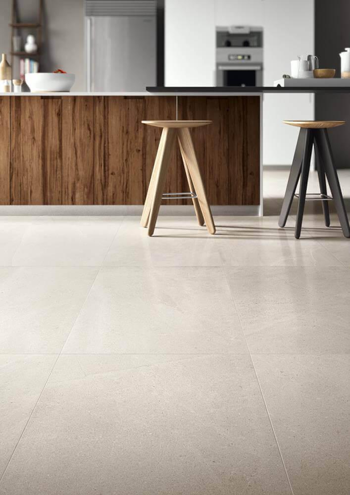 Vloertegels 90x90 - Limestone Clay