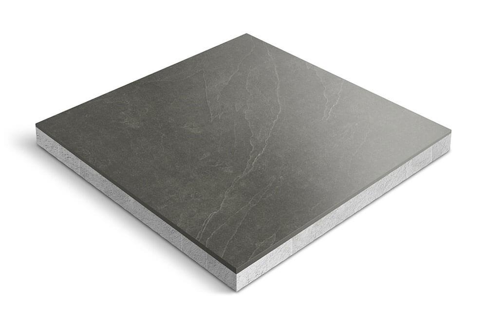 Keramiek op beton - CeraDeco Brasile Nero