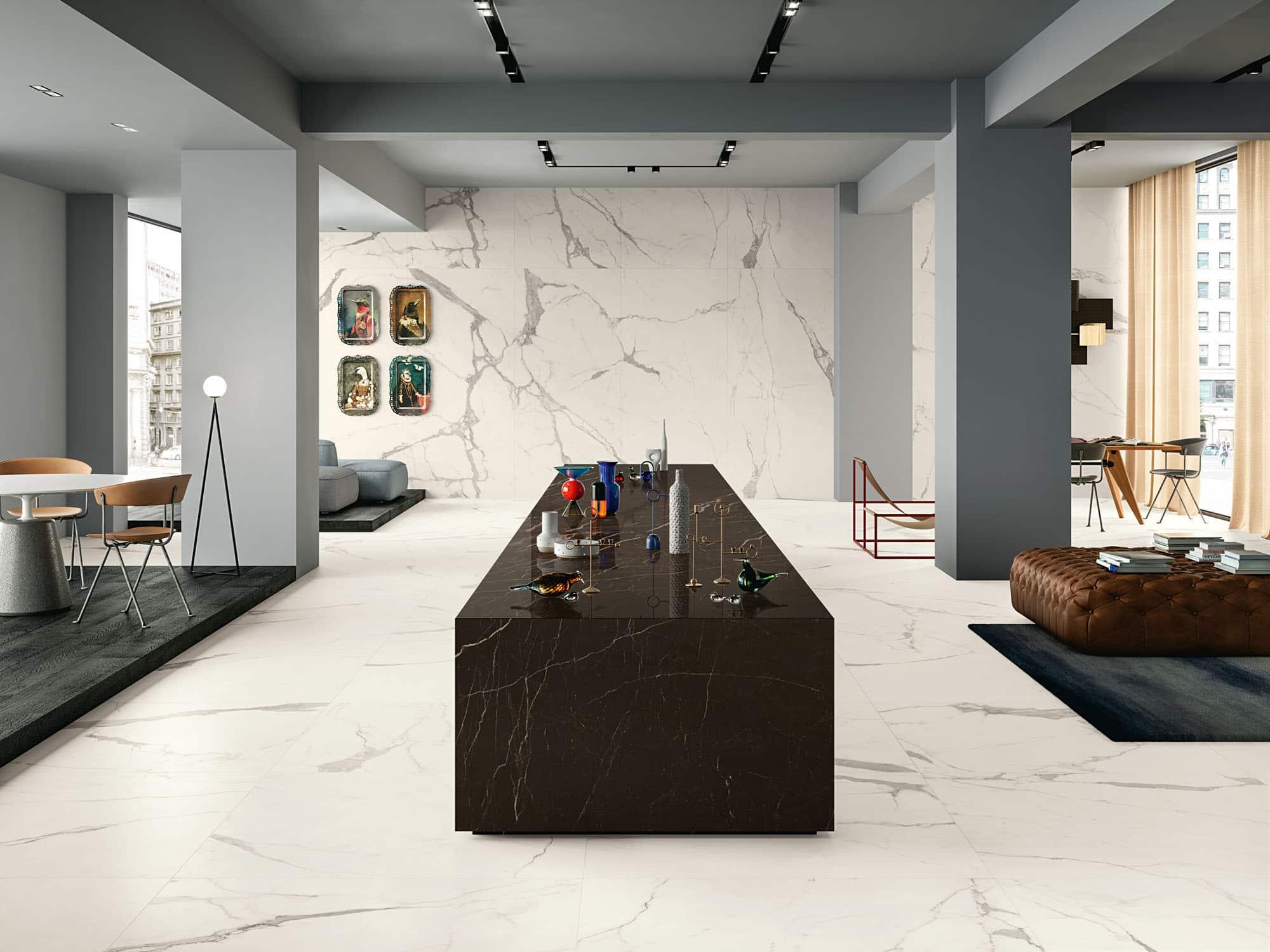 Witte vloertegels - Vanity Bianco Statuario - Touch