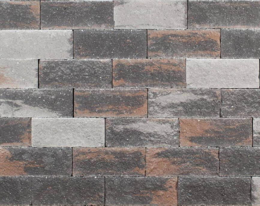 Stapelblokken - Wallblock Split Texels bont