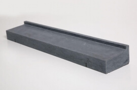 Raamdorpels - Hardsteen Blue Cloud Raamdorpel LICHT GEZOET - 15,5 cm