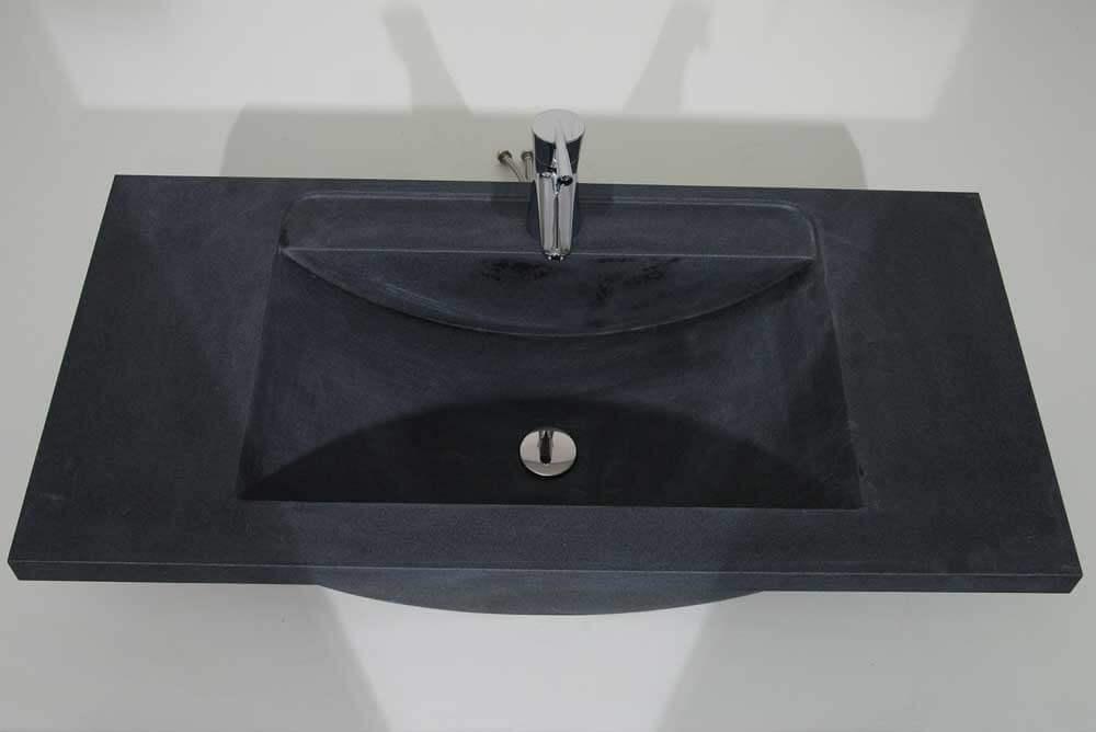 Natuursteen wastafels - Granieten Wasbak Type 2 - 100 cm