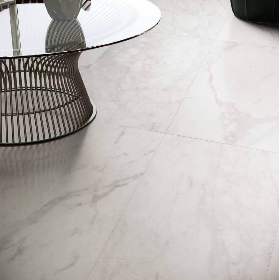 Vloertegels 7,5x60 - Velvet White