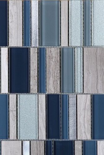 Keramische Mozaiek - Superior Sapphire
