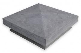 Paalmutsen - Chinees Hardsteen Paalmuts - Diamantkop Design