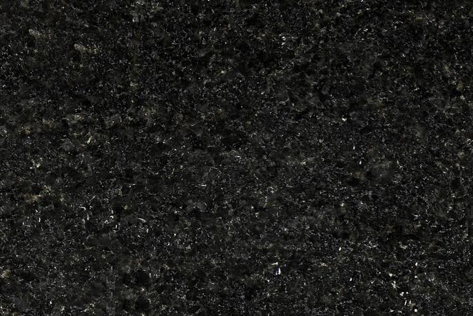 Vloertegels 40 cm - vrije lengte - Black Pearl Graniet - Leather Finish (Binnen)