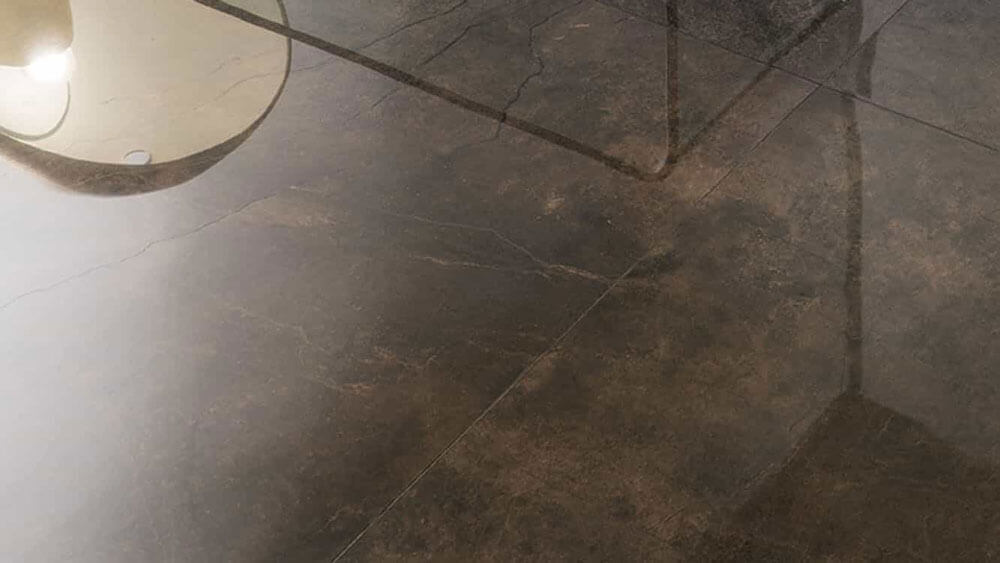 Vloertegels 25x130 - Marmocrea Bronzo Amani Krystal