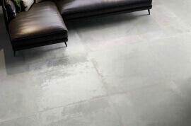Industrieel look vloertegels - Oxidart Silver