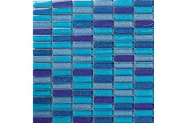 Glas Mozaiek - Glass Blue Sky