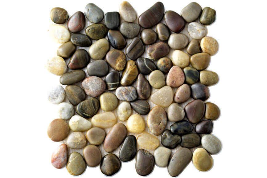 Taupe wandtegels - Perla Multicolor