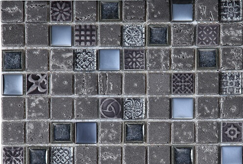 Mozaiek wandtegels - London Iron