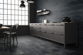 Basalt Look vloertegels - Vox Black