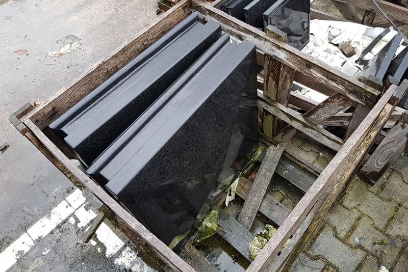 Paalmutsen - Basalt Design Paalmuts - Diamantkop (restpartij)