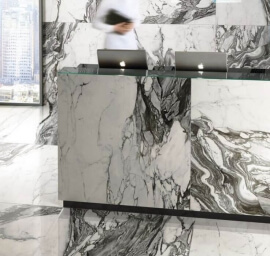 Wandtegels 50x100 - To Be Marble Renoir - Lux