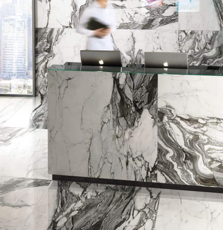 Tegels 100x100 - To Be Marble Renoir - Lux