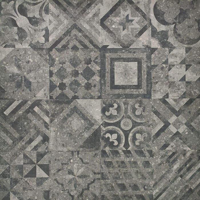 Waterdoorlatende terrastegels - X1 Decor Grey