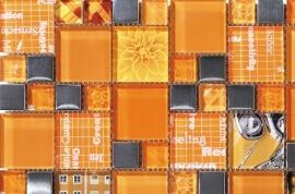 Glas Mozaiek - Inspiration Apricot