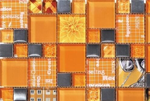 Mozaiek wandtegels - Inspiration Apricot