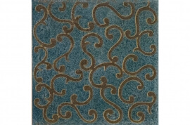 Vintage Look wandtegels - Majoliche Oceano Lenzi Arabescato
