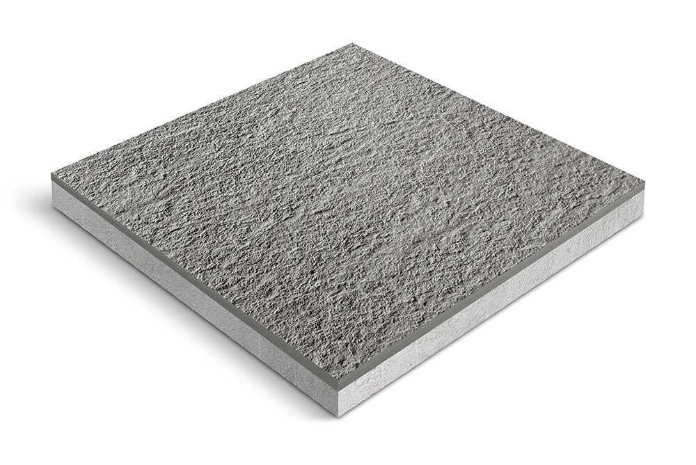 Keramiek op beton - CeraDeco Argento LUX