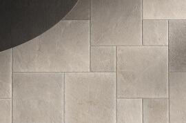 Kalksteen Look vloertegels - Massive Stone Ash