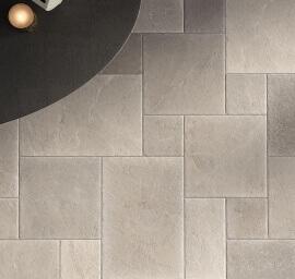Wandtegels 60x90 - Massive Stone Ash