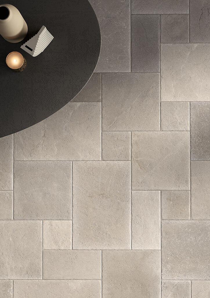 Vloertegels 60x90 - Massive Stone Ash