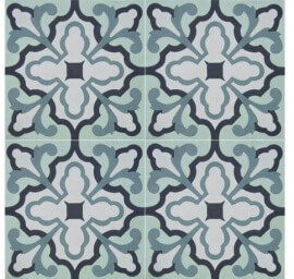 Vloertegels 20x20 - Blue Delft