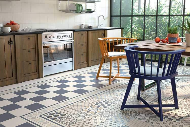 Portugese Tegels Tuin : Patroontegels in de tuin interieur inrichting
