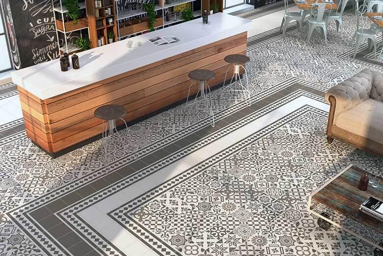 Portugese Tegels Tuin : Portugese cementtegels vs keramische portugese look tegels